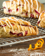 Cranberry Orange Scone